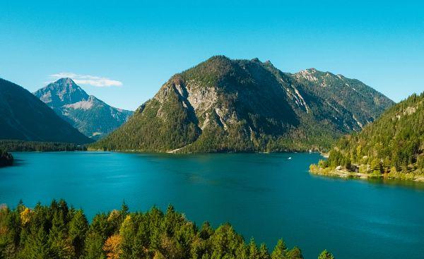 Um den Plansee in Tirol